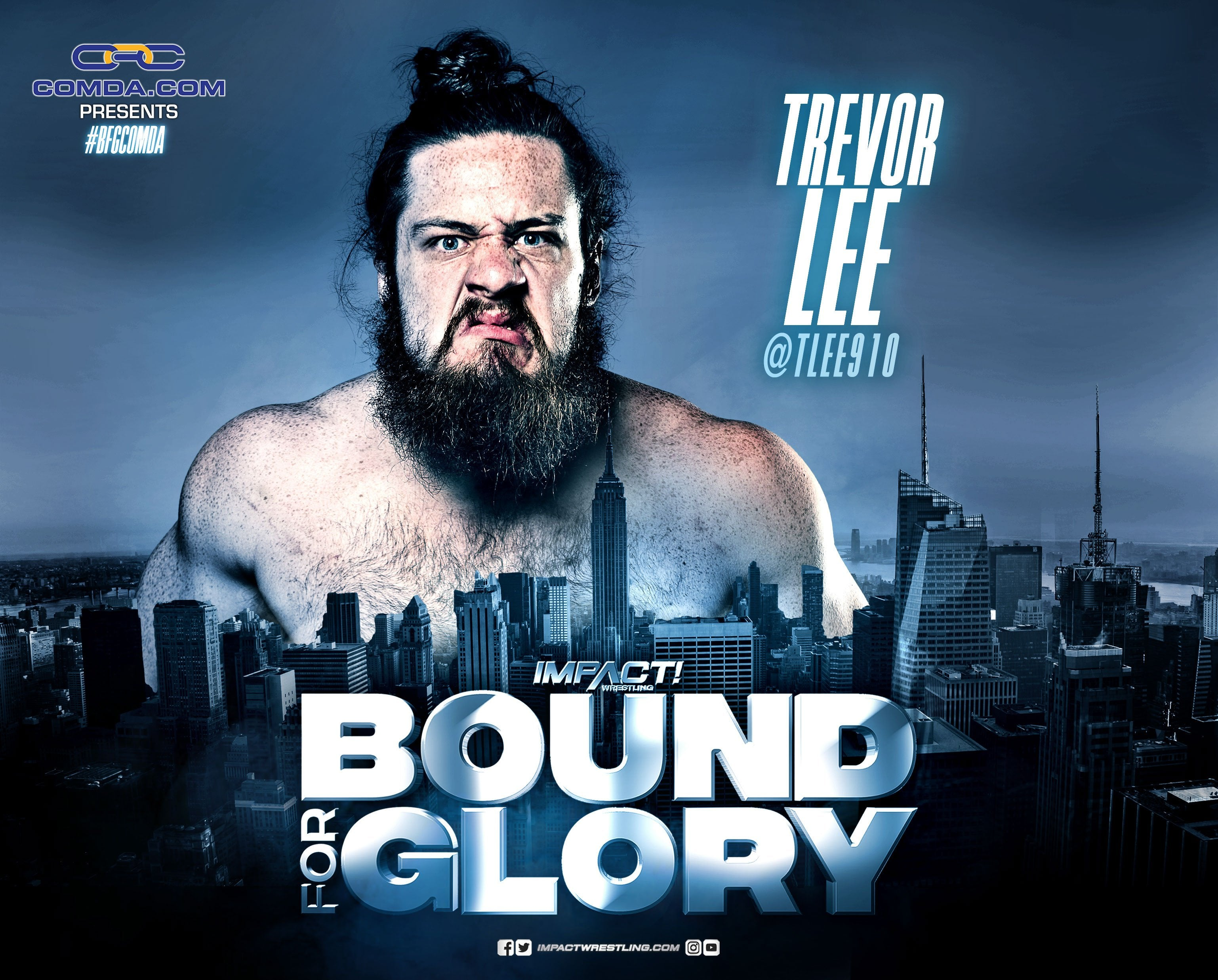 Bound for Glory Trevor Lee 8 x 10 Photo