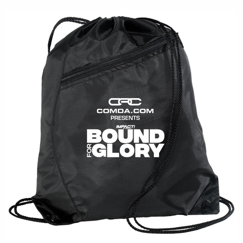 Event Logo Colorblock Poly Cinch Bag