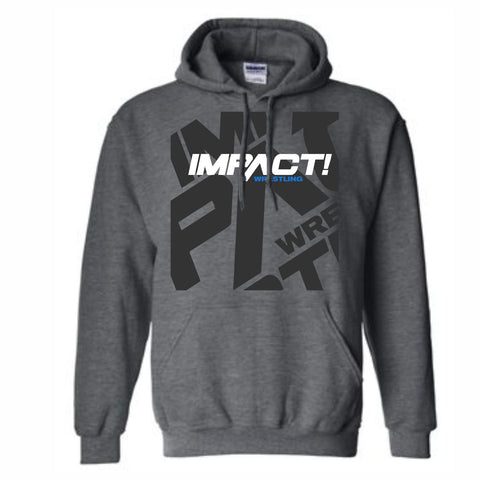 Impact Wrestling Shadow Hoody - Grey Horizontal