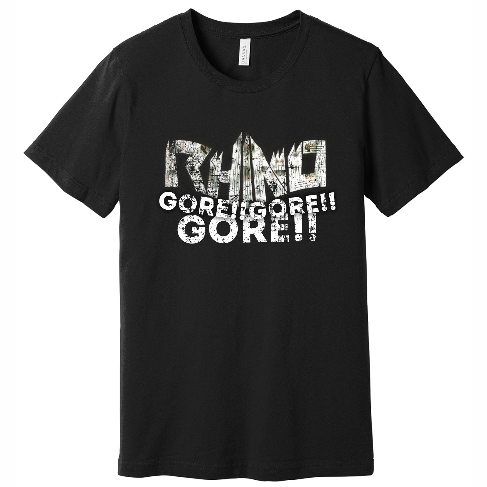 Rhino Men's SS Tee - black