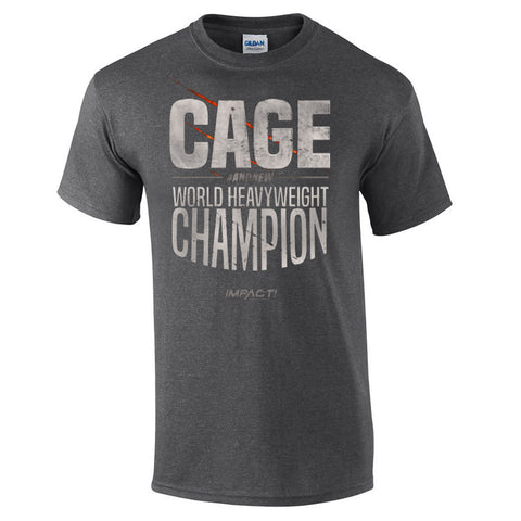 Brian Cage: World Heavywweight Champion T-Shirt