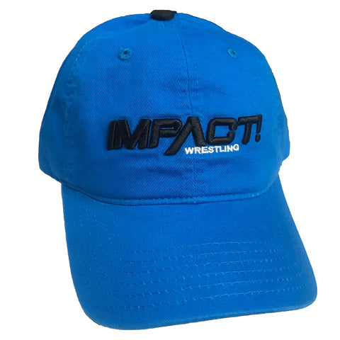 Impact Wrestling Dad Cap - Blue
