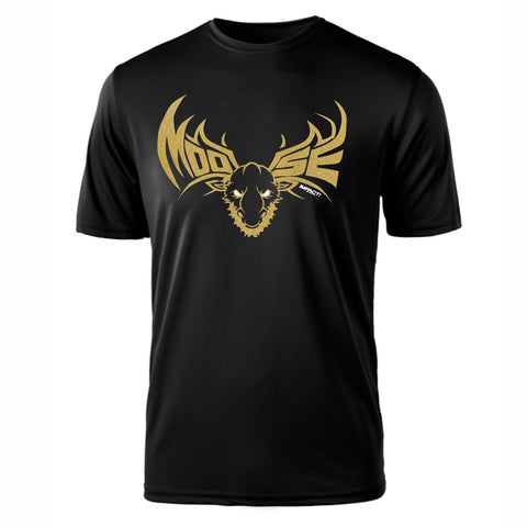 Moose GOLD SS Tee - Black