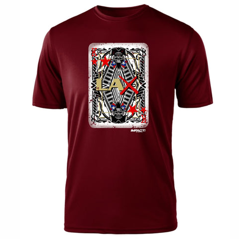 LAX Kings SS Tee - Maroon
