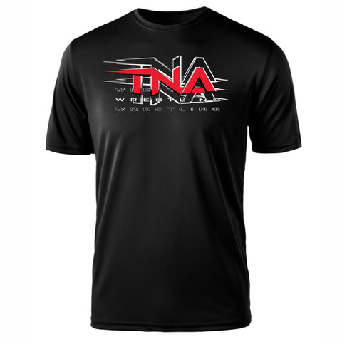 THERE'S NO PLACE LIKE HOME, TNA TEE - BLACK