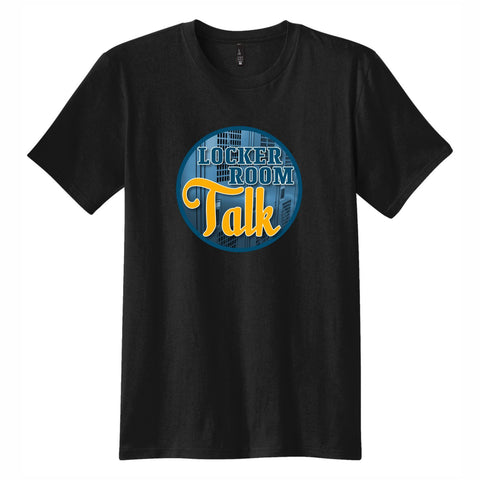 Locker Room Talk - Men's Short Sleeve Tee Black