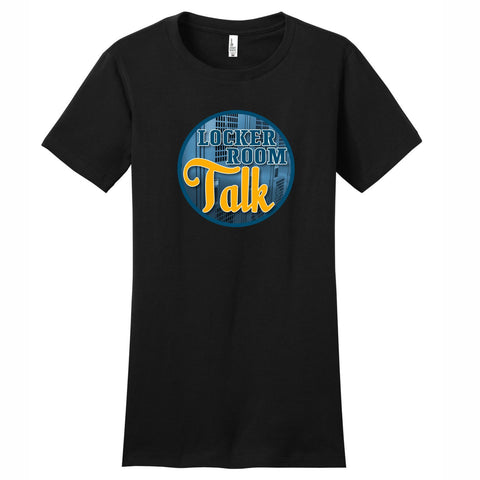 Locker Room Talk - Women's Short Sleeve Tee Black