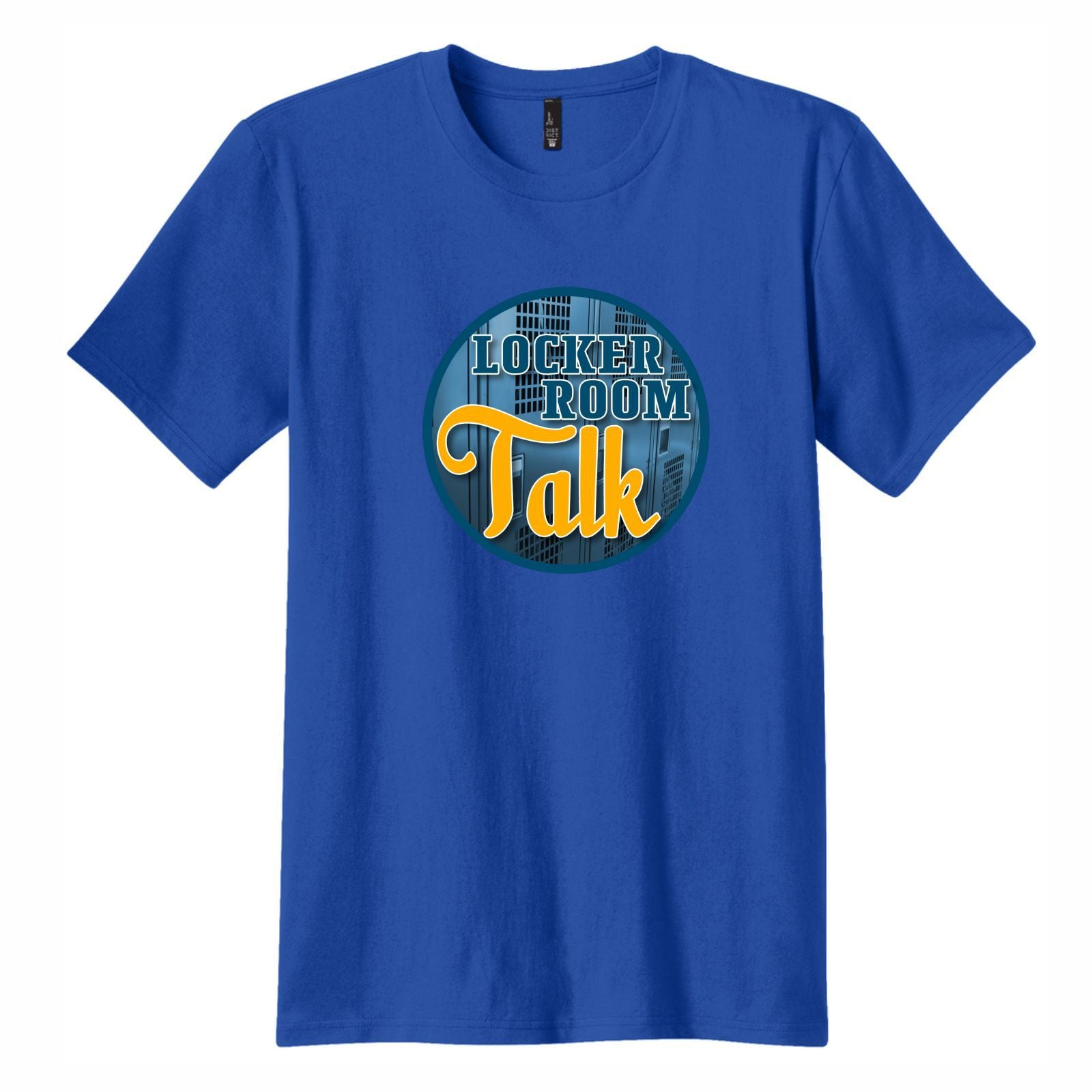Locker Room Talk - Men's Short Sleeve Tee Royal