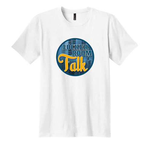 Locker Room Talk - Men's Short Sleeve Tee White