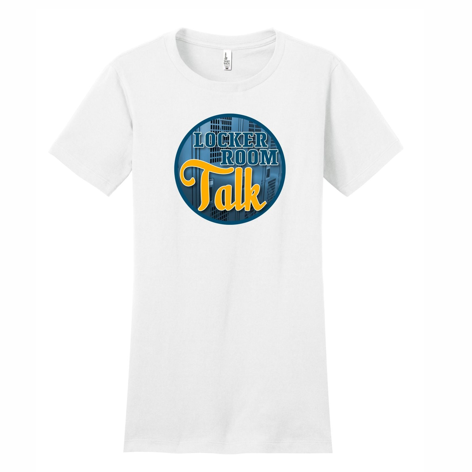 Locker Room Talk - Women's Short Sleeve Tee What