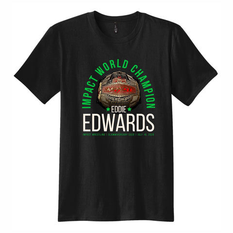World Champion Eddie Edwards Short Sleeve Tee - Black