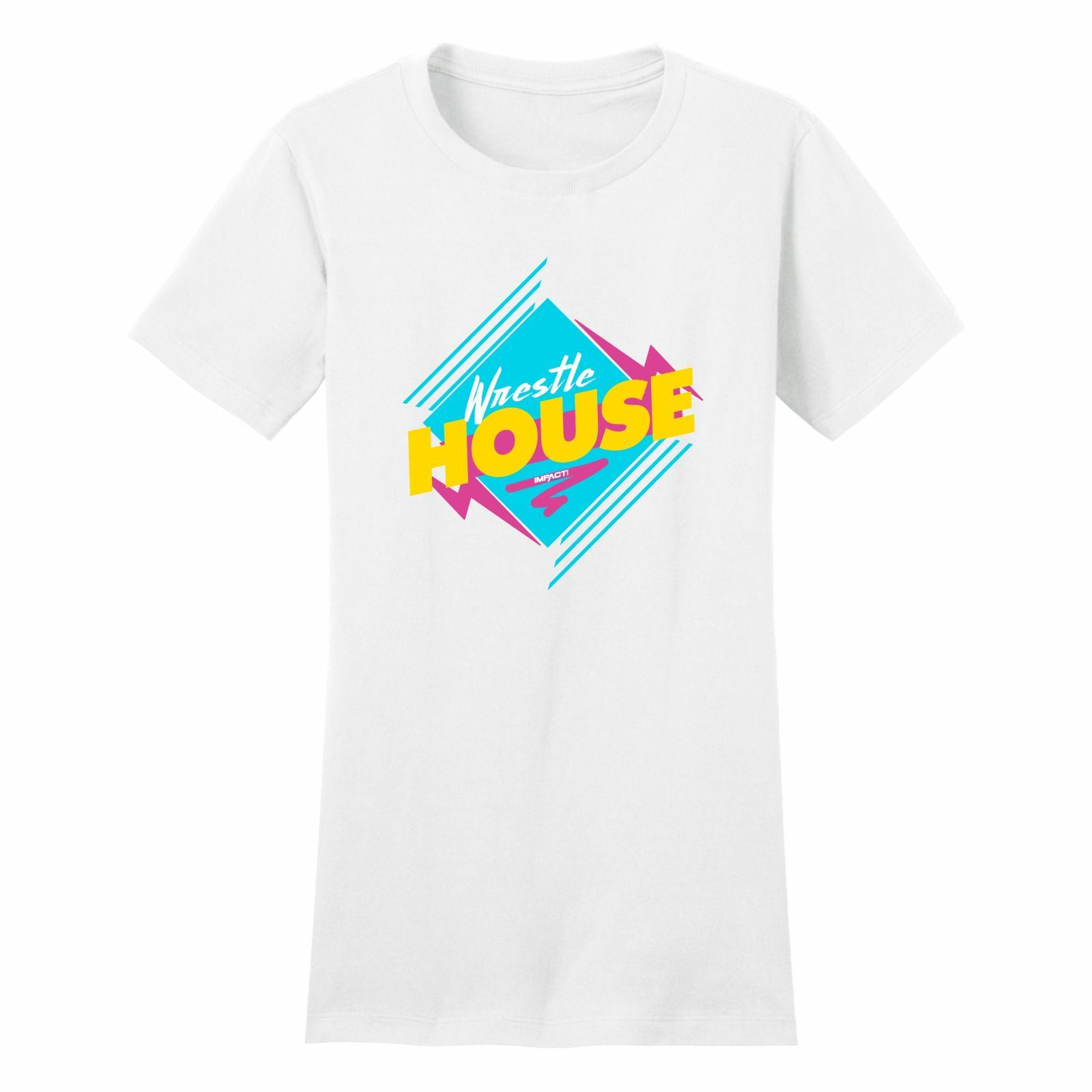 Wrestle House Short Sleeve Women's Tee