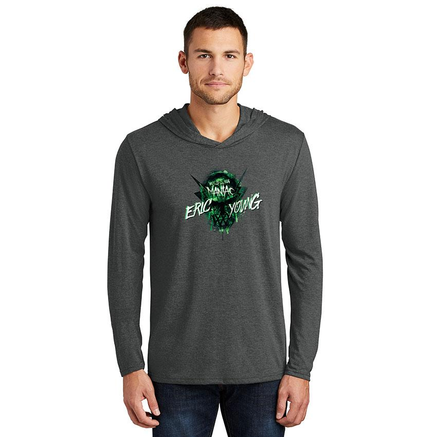 Eric Young Maniac Men's Hooded Long Sleeve T-Shirt