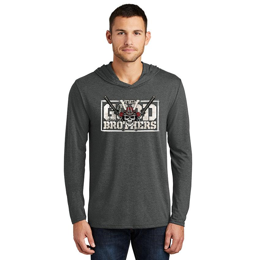 The Good Brothers Men's Hooded Long Sleeve T-Shirt