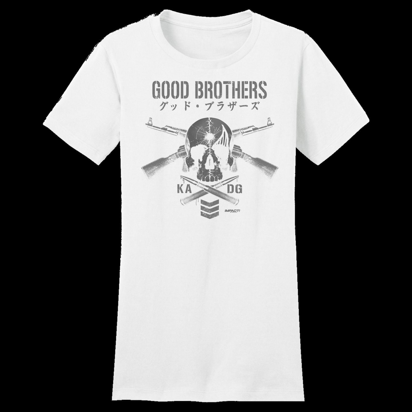 THE GOOD BROTHERS  Women's Short Sleeve Tee
