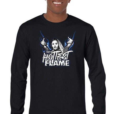 Kiera Hogan The Hottest Flame Men's Long Sleeve T-Shirt