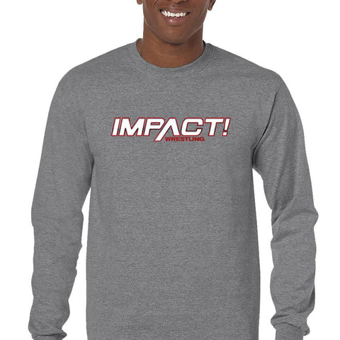 Impact Red Men's Long Sleeve T-Shirt