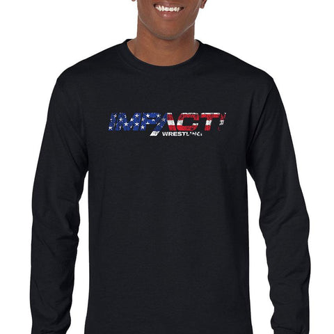 Impact USA Men's Long Sleeve T-Shirt