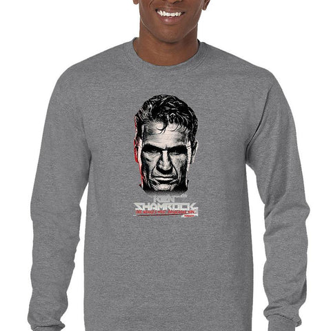 Ken Shamrock Men's Long Sleeve T-Shirt