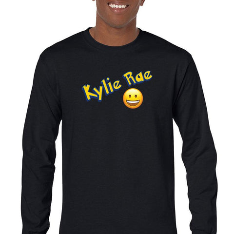 Kylie Rae Emoji Men's Long Sleeve T-Shirt