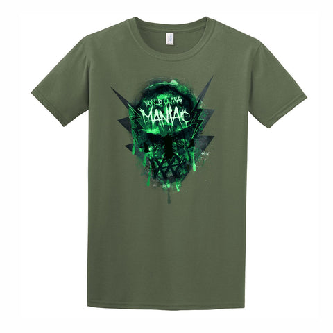 Maniac Short Sleeve Tee - Military Green