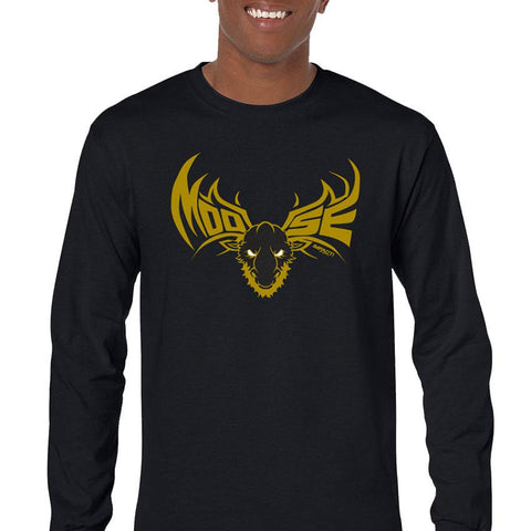 Moose Gold Men's Long Sleeve T-Shirt