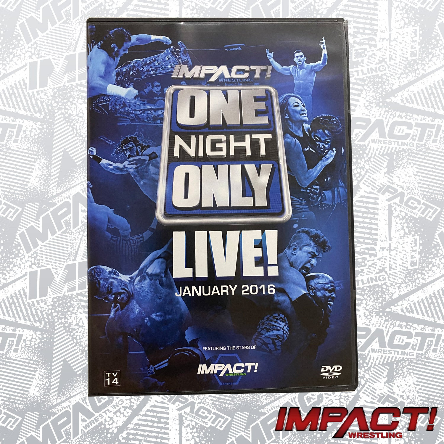 One Night Only: LIVE 2016 DVD