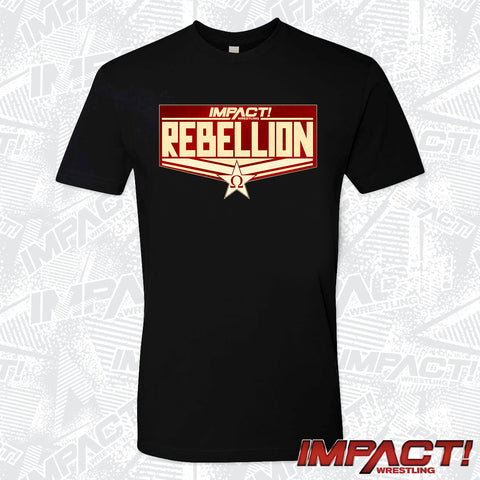 Rebellion 2021 PPV Logo T-Shirt