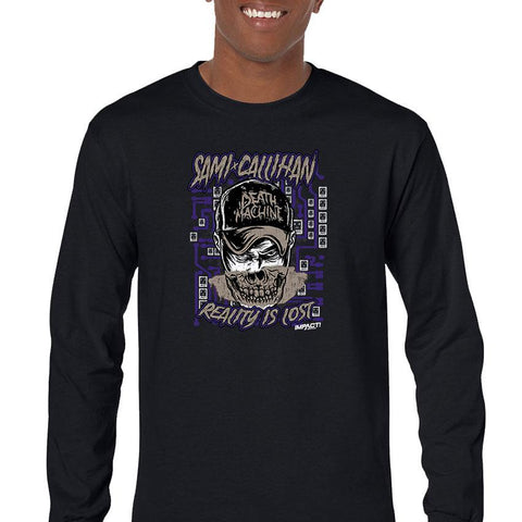 Sami Callihan Death Machine Men's Long Sleeve T-Shirt