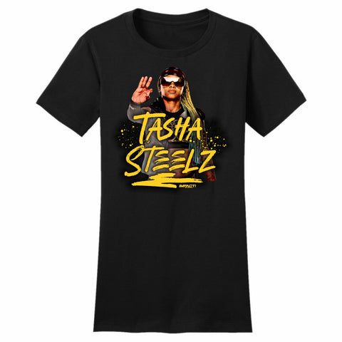 TASHA STEELZ WOMEN'S Short Sleeve T-Shirt