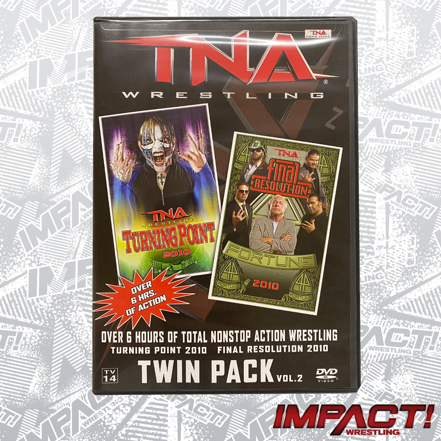 Turning Point 2010 & Final Resolution 2010 Twin Pack DVD