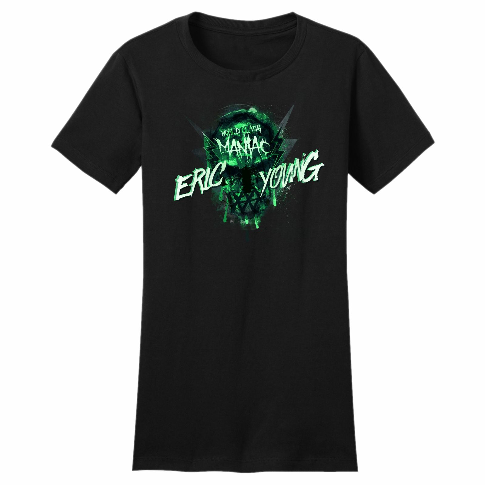 Maniac ERIC YOUNG Short Sleeve Tee - Military Green