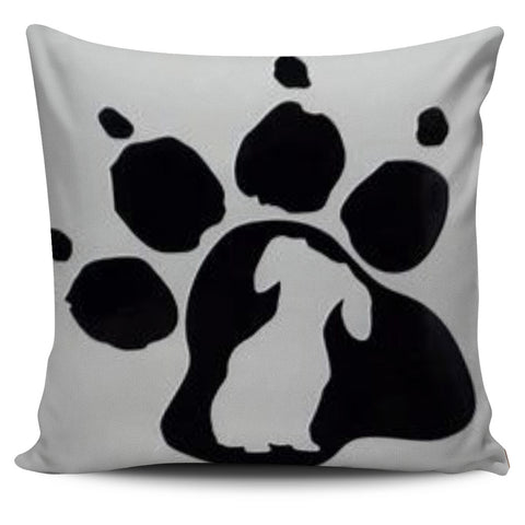Doxie Paw Pillow Cover