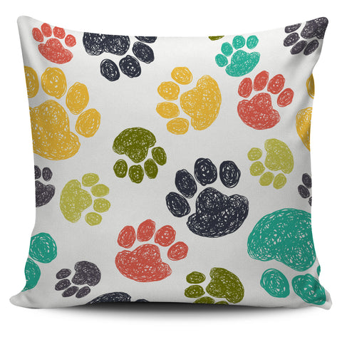 Petty Paws Pillow Cover