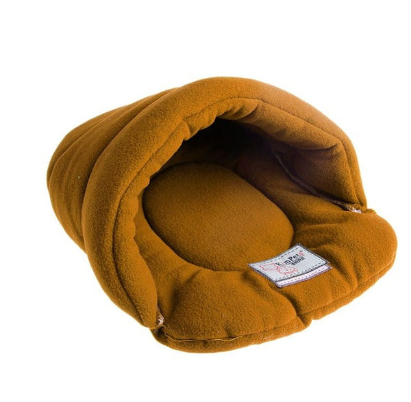 Soft and Warm Slipper Shaped Cozy Dog and Cat Beds.