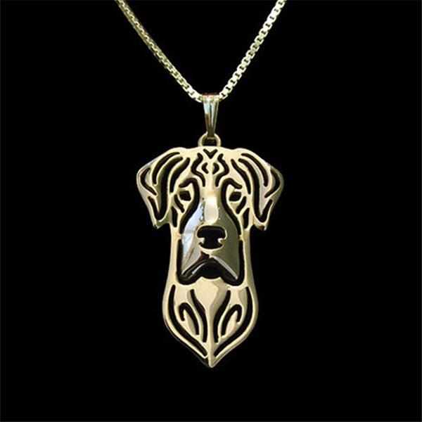 Great Dane Pendant & Necklace