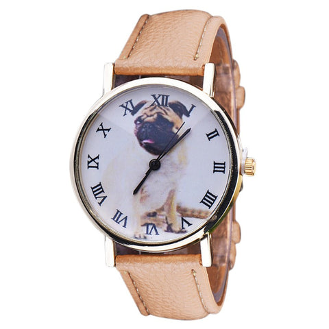 Lovely Women's Dog Wrist Watches