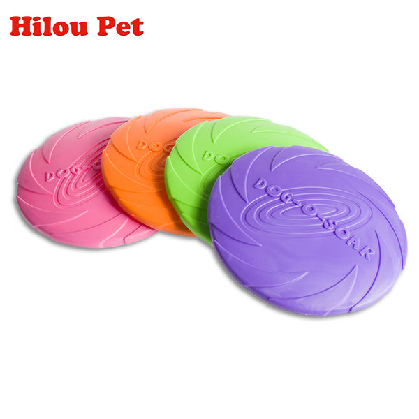 Soft Eco-friendly Silicone Flying Disc