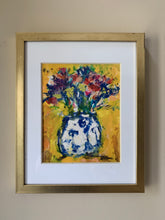 FLOWERS IN A GINGER JAR PRINT