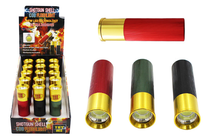 SHOTGUN SHELL<BR>LED LIGHTS