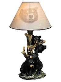 "20"" Nifty Bear Lamp   HD 15350"