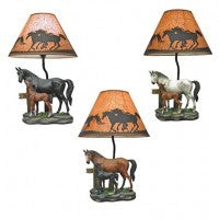 Equine Love Lamp<BR>HD 19640