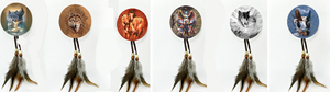 "2"" Dreamcatcher Magnets<BR>dc02123k"