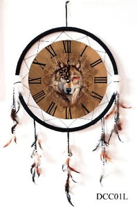 "21"" Dreamcatchers Mandella Clocks<BR>KCLOCK"