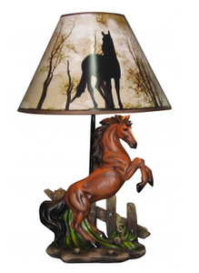 "20"" Stallion Lamp<BR>HD 28324"