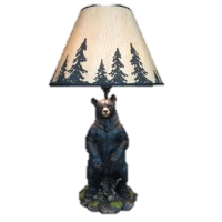 "26"" Arkadius Bear Lamp<BR>HD 36605"