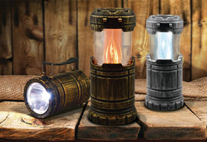 FLICKER FLAME<br>LED LANTERN