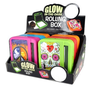 Glow in the dark rolling box<BR>ICM 803