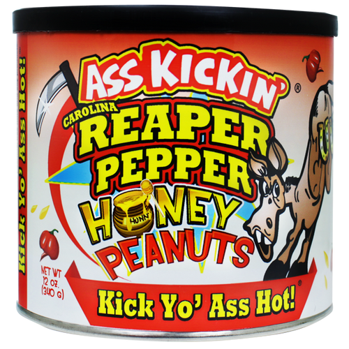 Carolina Reaper Honey Peanuts<br>AK 870