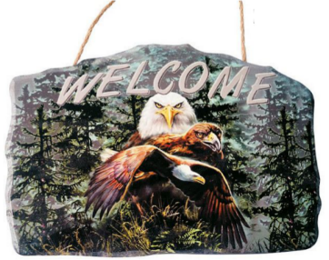 Eagle Welcome Sign<BR>DC 12144B